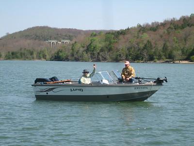 FISHING TRIP TO BRANSON 4/22/07