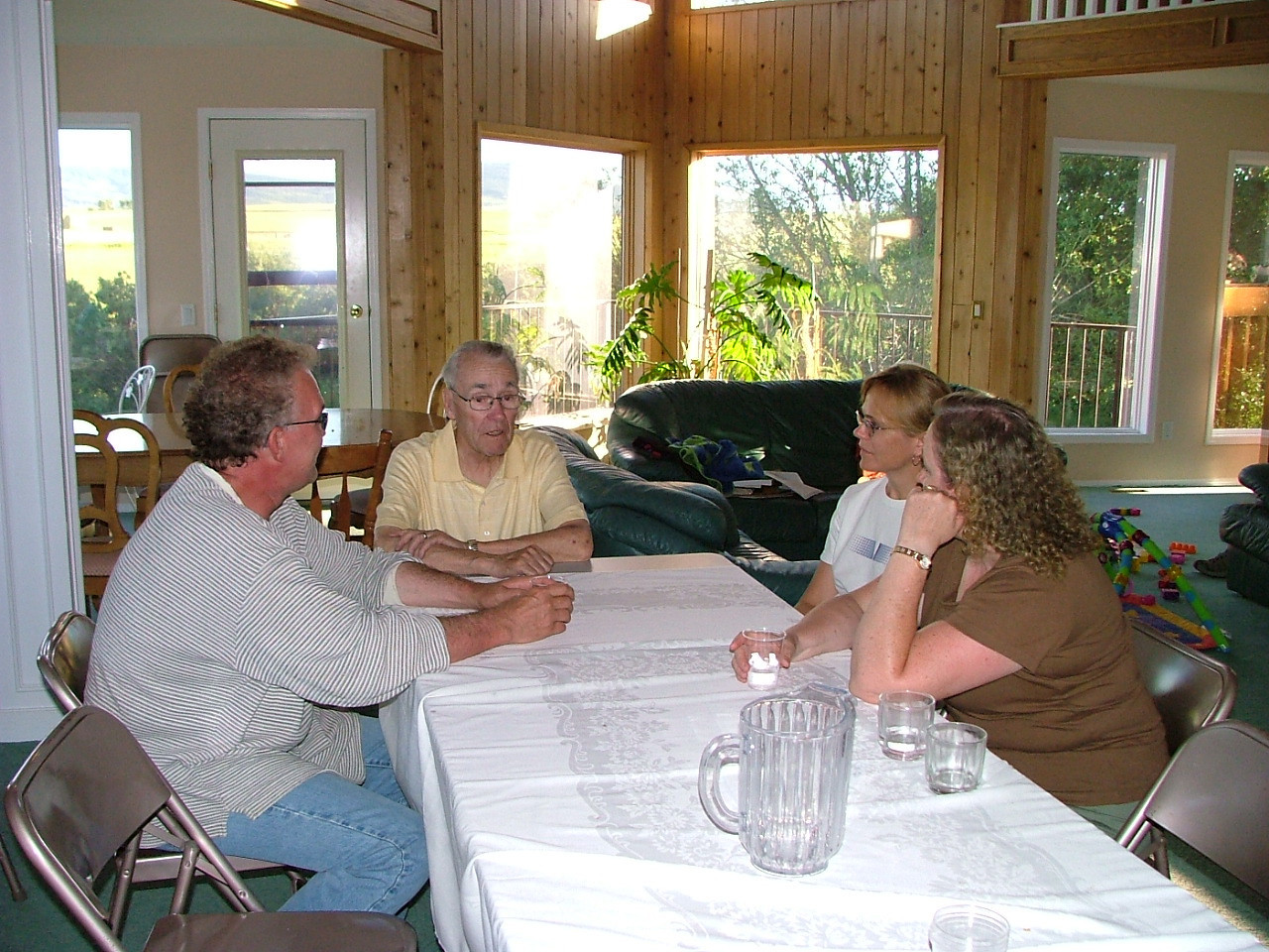 Bill, Grandpa, Karen, Daphne
