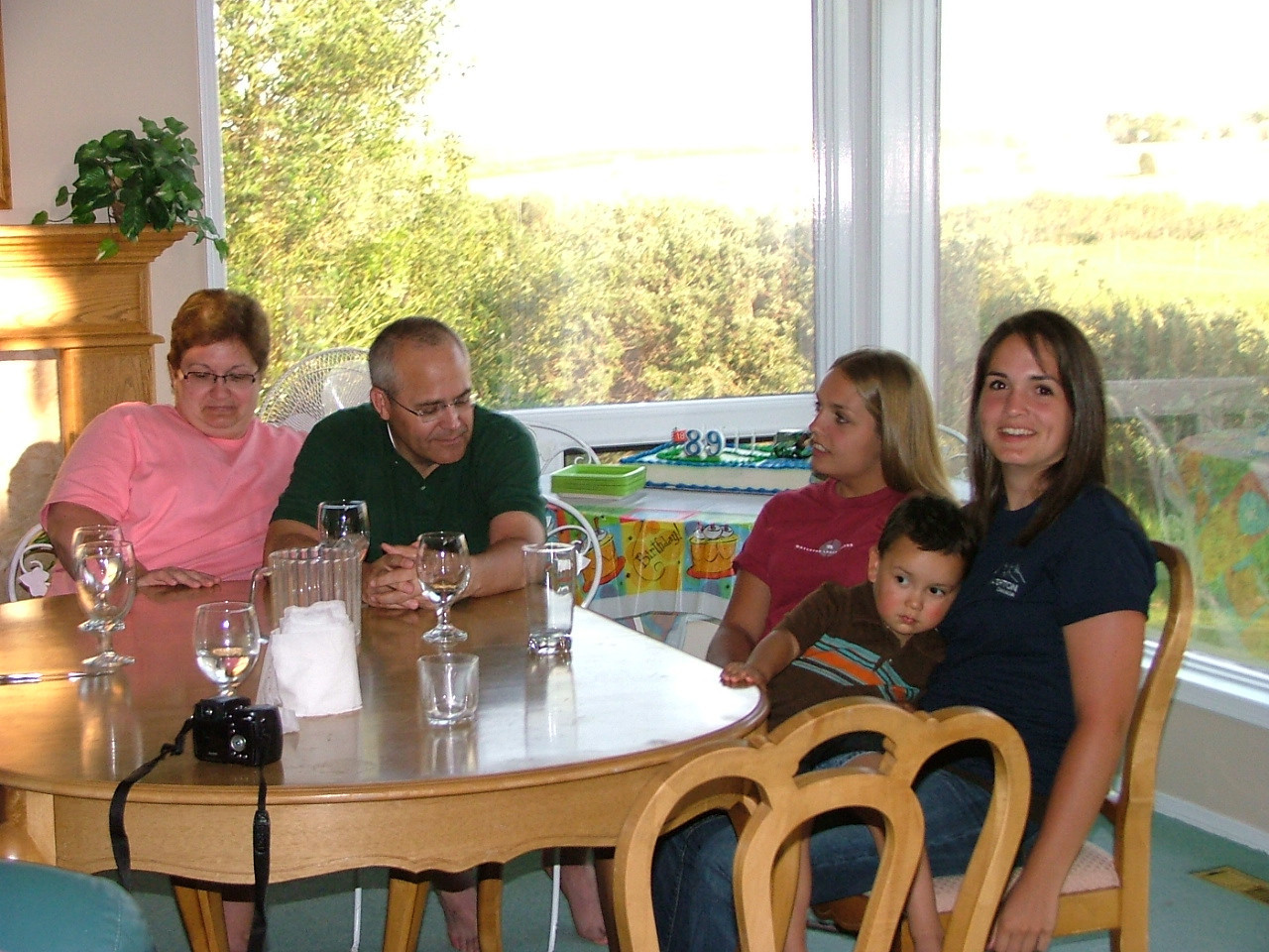 Donna, Kent, Abby, Joshua, Annie