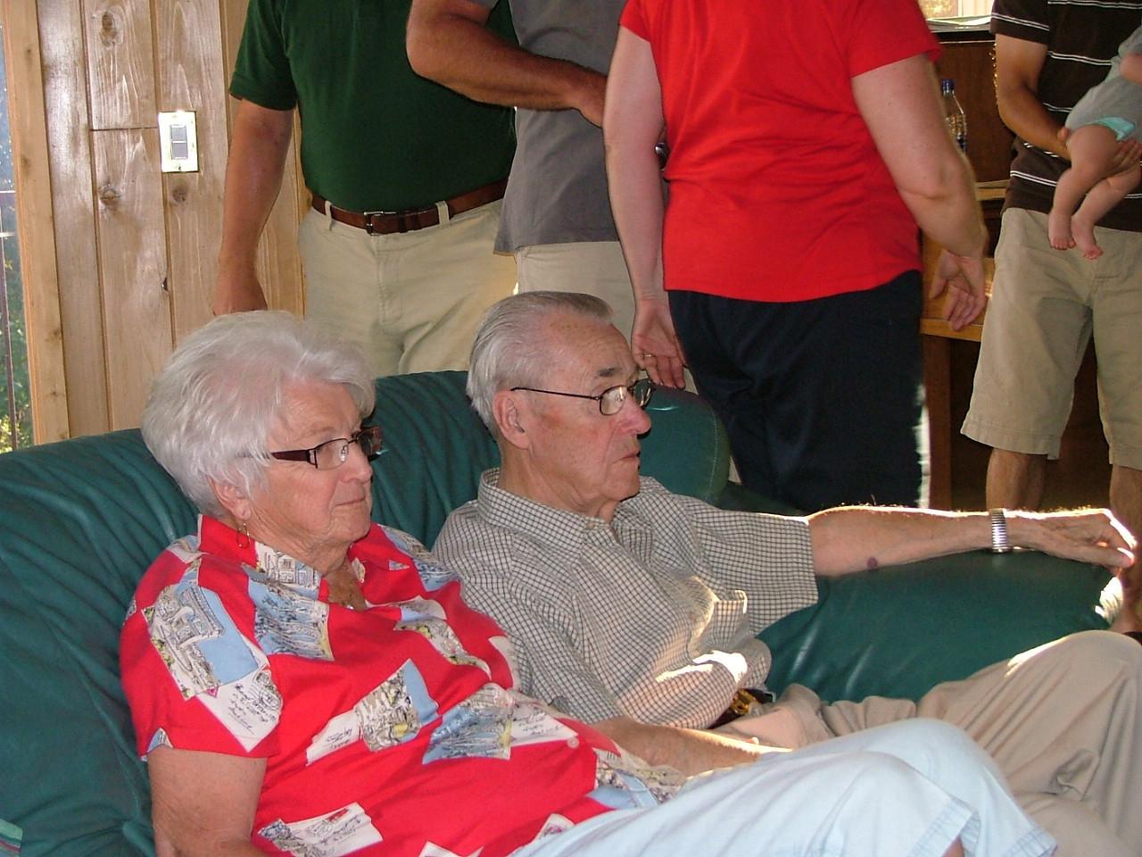 Clara and Grandpa