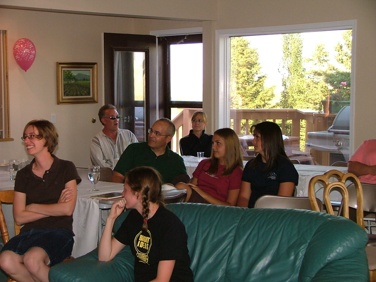 (back) Bill, Karen (middle) Kent, Abby, Annie (front) Christy, Kristi