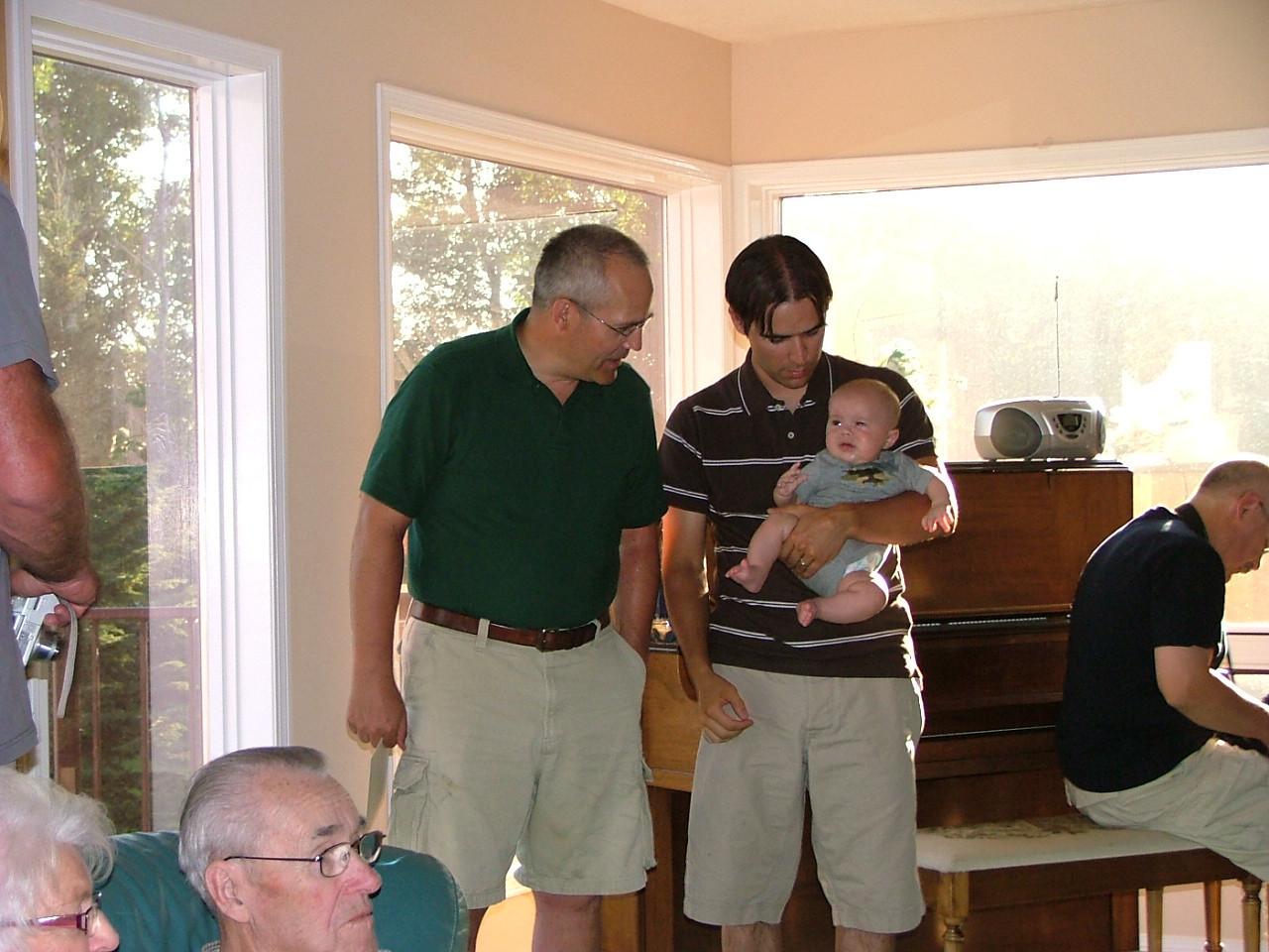 Kent, Scott, baby Liam