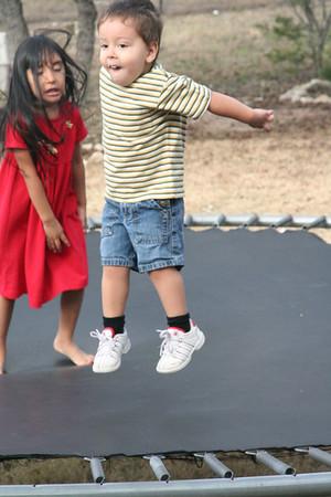 Elaina and Elijah at play