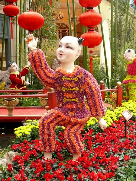 02-07 Las Vegas - Bellagio Chinese New Year - Flower Child 2