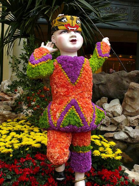 02-07 Las Vegas - Bellagio Chinese New Year - Flower Child