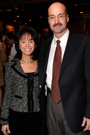 Wendy Carduner and Doug Blonsky, President of the Central Park Conservancy