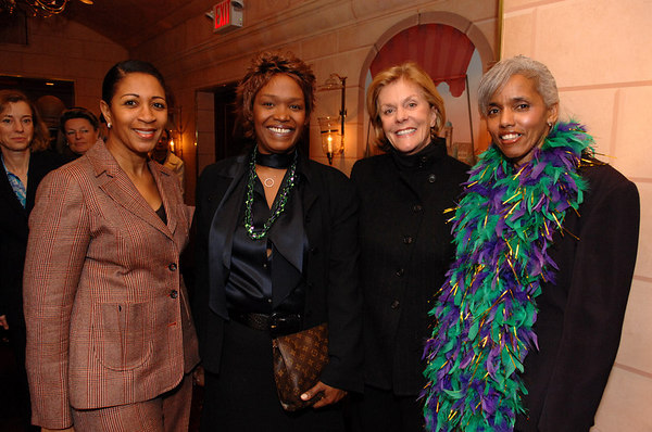 Central Park Conservancy Women's Committee Mardis Gras Luncheon at Doubles