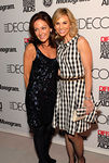 Margaret Russell and Elizabeth Hasselback at DIFFA Dining By Design Preview Cocktail Party