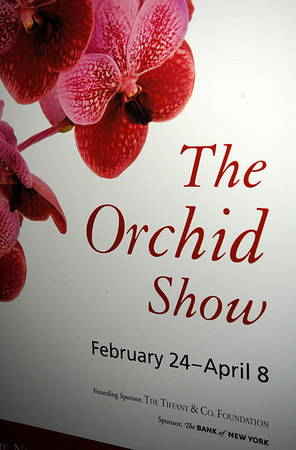 THE ORCHID DINNER BENEFIT for the New York Botanical Garden