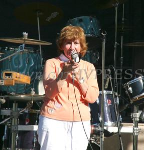 Deputy Mayor Regina Angelo welcomes everyone to the 19th annual festival