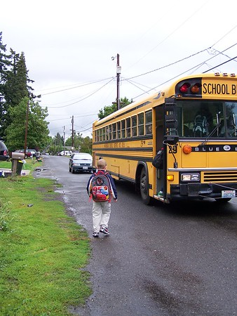 First Day of School September 2007