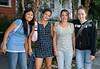 Dorcas, Rose, Megan, and Isabel.