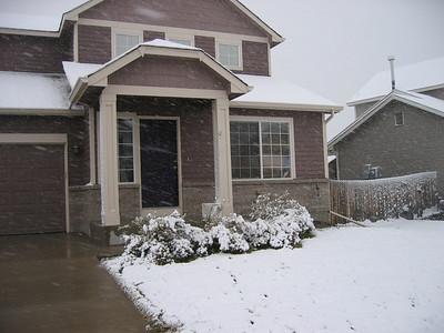 First Snow! Octboer 2007