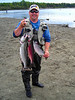 An avid fisherman, Mitch was happy to be leaving Alaska with some meat for the freezer.
