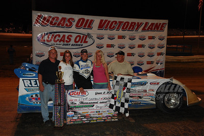 Steve Casebolt with Family and Crew