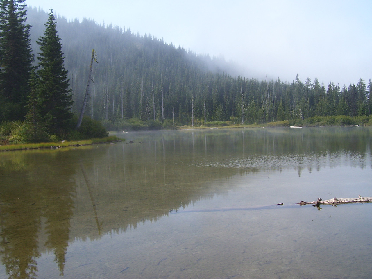 Mud Lake Friday morning.