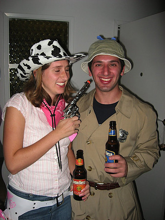 Cowgirl and Inspector Gadget