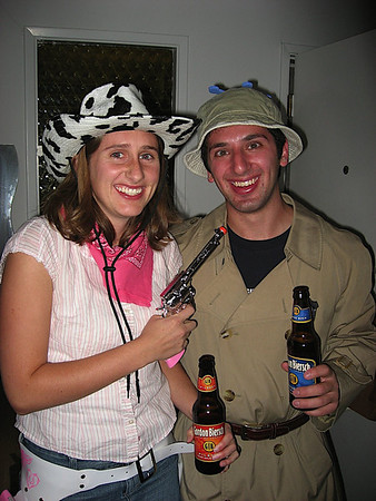 Cow-girl and Inspector Gadget. I Lost my gadget hand!