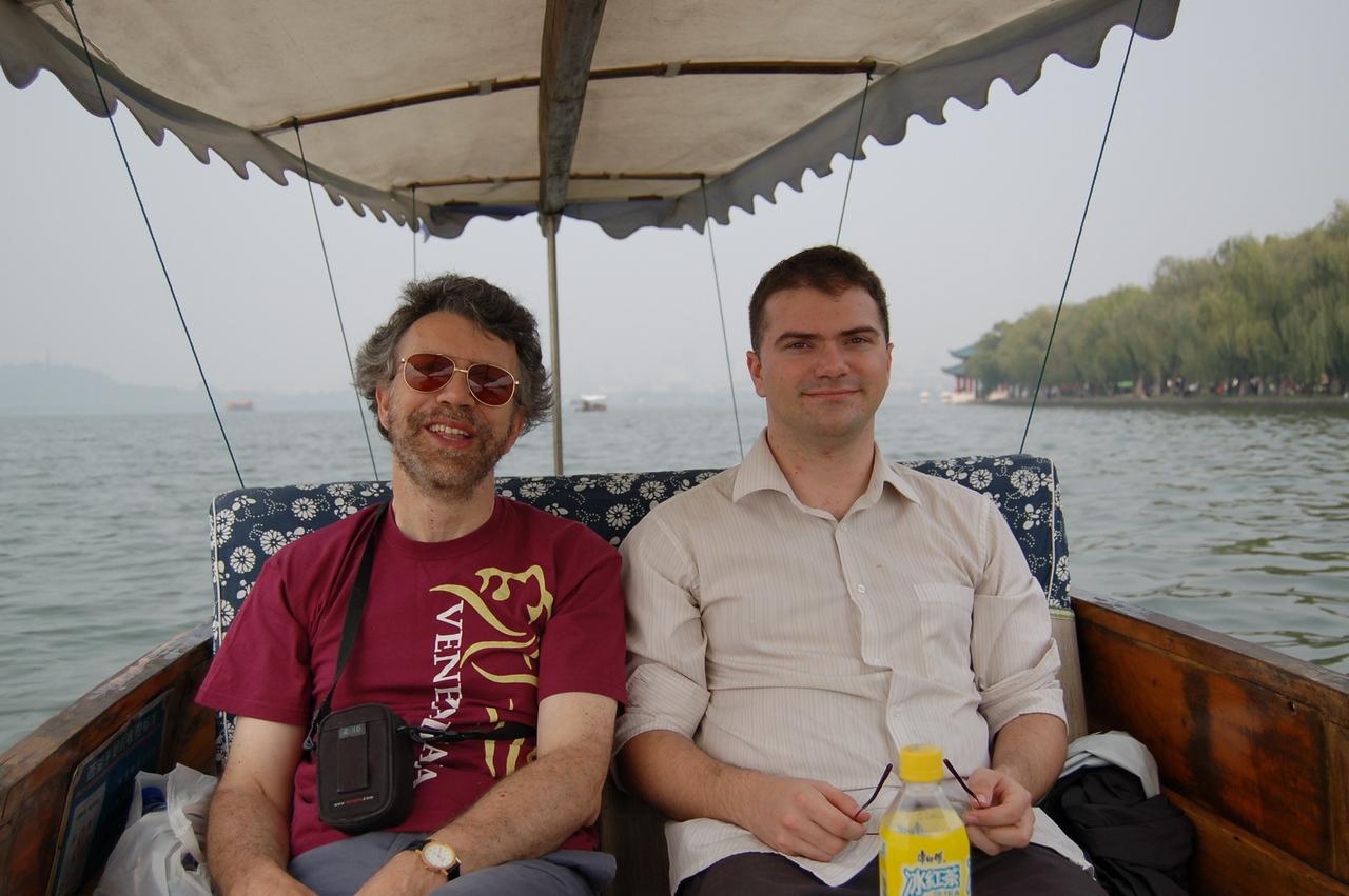 R   M in boat