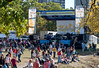 Row-a-Palooza bandstand.