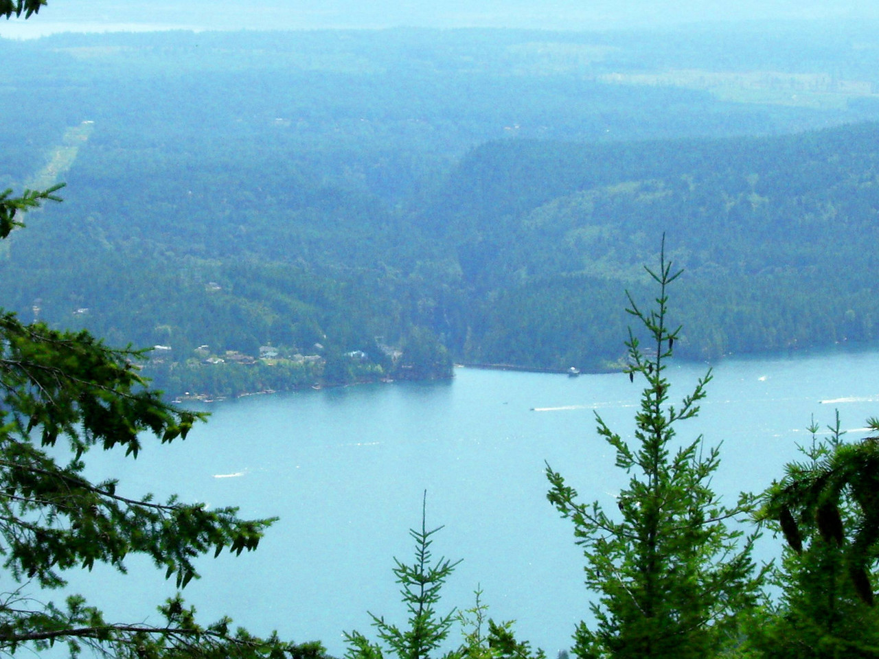 Lake Cushman again.