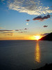 Sunset over the Cook Inlet.