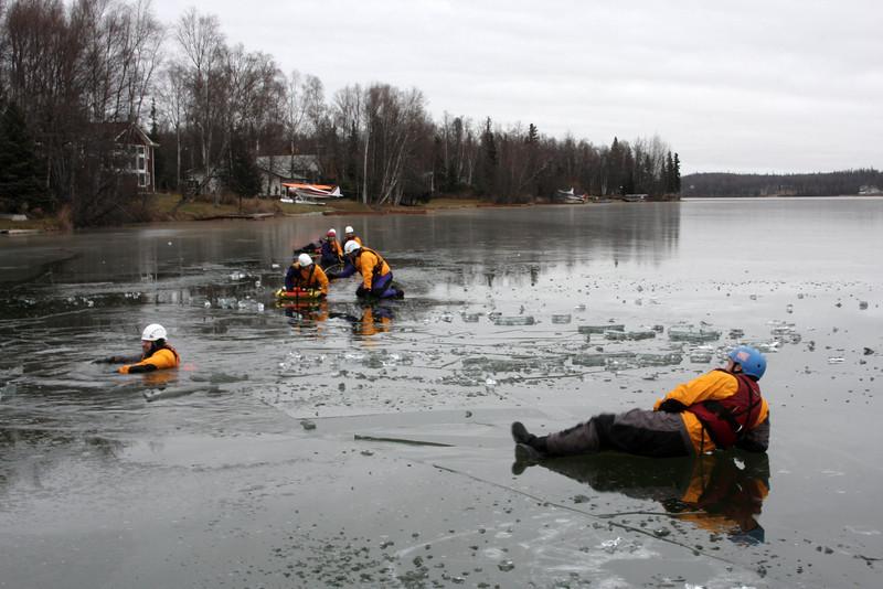 The Mat-Su Borough Water Rescue team.