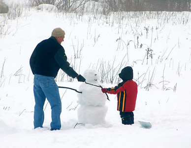 Building Frosty the Snowman