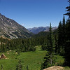 The alpine meadow below Ingalls Pass is one of the most beautiful places I've encountered in the Cascades.