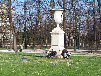 The Parco Ducale in Parma
