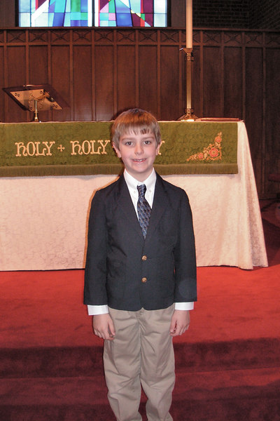 Anthony's First Communion