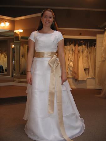 Stephanie Wedding Dress Shopping