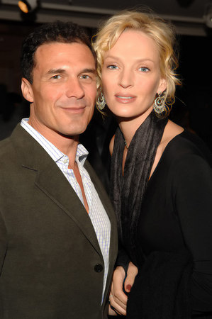 Andre Balazs and Uma Thurman