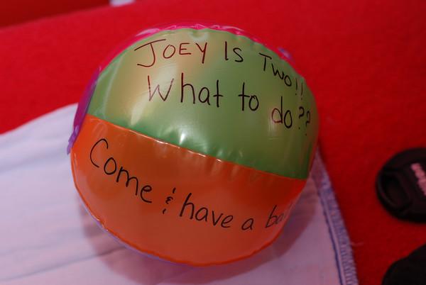 2007 Joey's 2nd Birthday