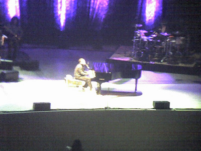 John Legend. He and his band played for nearly two hours and it was great, sart to finish