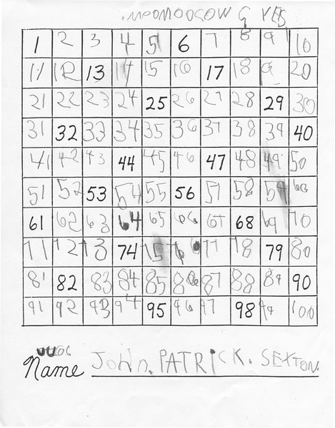 John 2007 Math2