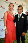 Barbara Poliwoda & Gerald P. Curatola, D.D.S. of Easthampton Dental Associates at the Hayground School for 11th Annual Heart of the Hamptons Gala