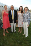 Barbara Poliwoda, Peter G. Peterson, Sr., Alexandra Peterson & Joan Ganz Cooney