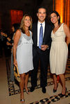 Paul Glickman with honorees Michelle Felmen & Wendy Silverstein at Cipriani 42nd Street for Big Brothers Big Sisters Casino Jazz Night Real Estate Dinner 2007