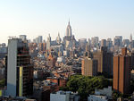 View of Manhattan from the Penthouse of the Hotel on Rivington on the Lower East Side