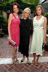 Tiffany Koury, Valerie Steele and Jennifer Vogel at the residence of Charlotte Moss for FIT COUTURE COUNCIL Cocktail Party to celebrate the upcoming Couture Council Awards Luncheon