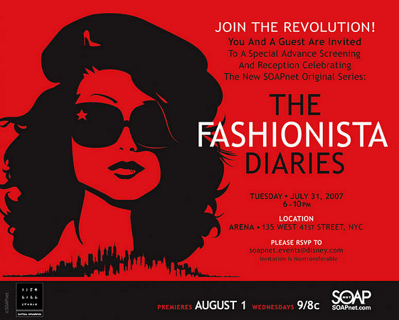THE FASHIONISTA DIARIES Premier Party at ARENA