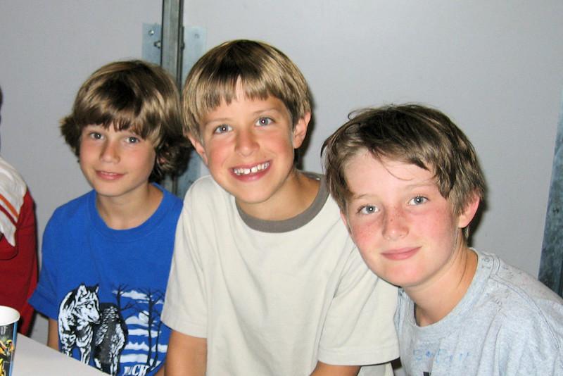 Collin, Jacob and Ryan