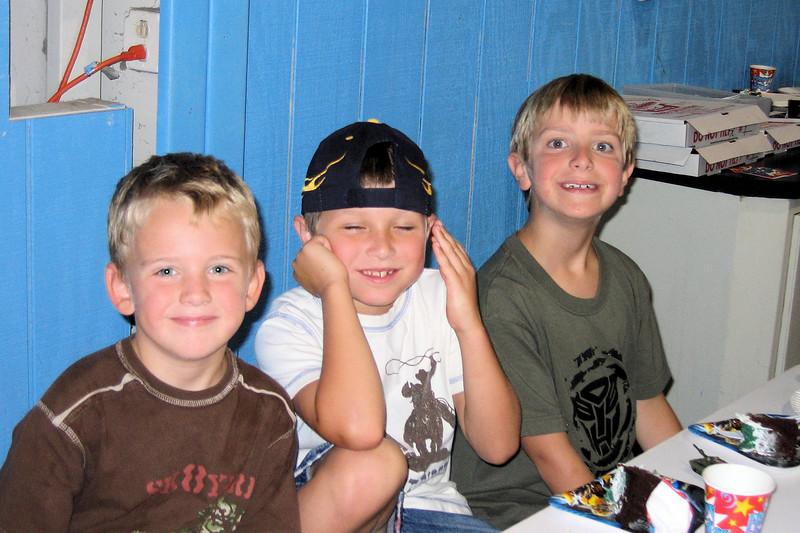 Luke, Keegan, and Anthony