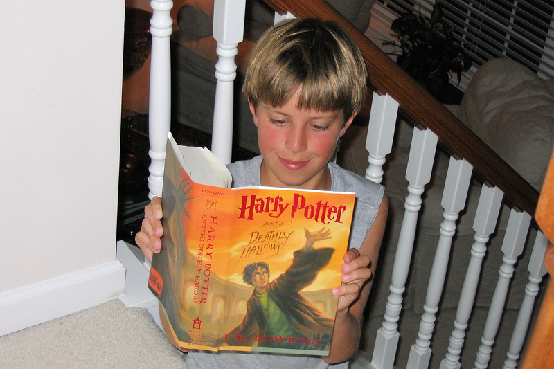 The New Harry Potter book is here!