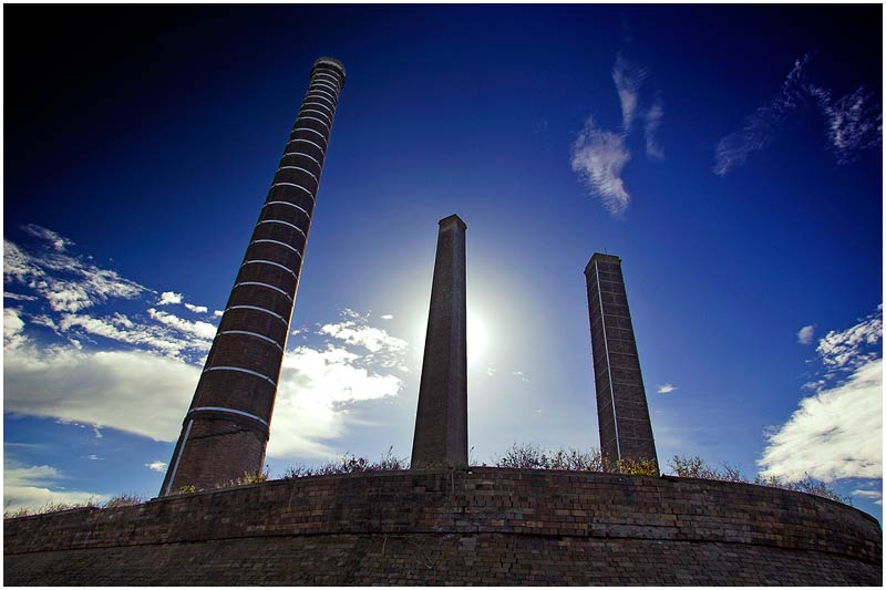 """Sunday 29th July 2007.  I will be posting images from the archives for a few weeks.  St. Peters Brickworks (originally taken June 10th 2005).  View location on <a href=""""http://maps.google.com/maps/ms?ie=UTF8&hl=en&msa=0&ll=-33.859012,151.203032&spn=0.049108,0.080338&t=h&z=14&om=1&msid=107047001763101043024.0000011385090e2979cca"""" target=""""_blank""""><strong><em>Google Maps</em></strong></a>.  EXIF DATA Canon 1D Mk II. EF 17-35 f/2.8L USM @17mm. 1/80s f/10 ISO 160."""