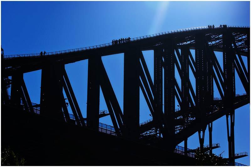 "Monday 2nd July 2007.  Sydney Webcam is taking a break for the month of July. Please enjoy photos from the archive until I return.  Sydney Harbour Bridge (originally taken 18th July 2005).  View location on <a href=""http://maps.google.com/maps/ms?ie=UTF8&hl=en&msa=0&ll=-33.859012,151.203032&spn=0.049108,0.080338&t=h&z=14&om=1&msid=107047001763101043024.0000011385090e2979cca"" target=""_blank""><strong><em>Google Maps</em></strong></a>.  EXIF DATA Canon 1D Mk II. EF 70-200 f/2.8L @70mm. 1/200s f/14.  ISO 200."