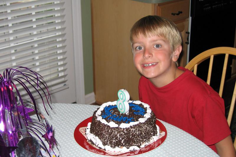 Anthony's 8th Birthday