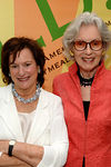 Marcia Stein, Executive Director, Citymeals-on-wheels and Barbara Tober