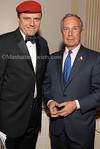 """Curtis Sliwa & Mayor Michael Bloomberg at Cipriani Wall Street for the Guardian Angels 2007 Annual Gala Dinner Dance: """"Realizing Safety Through Education"""""""